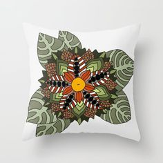 Time Painting, Painting & Drawing, Jungle Flowers, Flower Pillow, Goods And Services, Keep It Cleaner, Knit Crochet, Vintage Items, Diy Projects