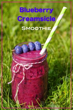Blueberry Creamsicle Smoothie - Good Girl Gone Green
