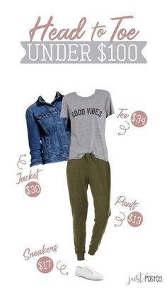 ShopStyle Look by justposted featuring Sub_Urban RIOT Juniors Good Vibes Loose Fit Graphic Tee and 'Good Vibes' Graphic Tee Outfits For Teens, Fall Outfits, Casual Outfits, Fashion Outfits, Work Outfits, Fashion Tips, Fashion Trends, Weekend Outfit, Weekend Wear