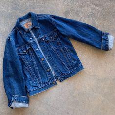 Vintage levis Jean Jacket on Mercari Jaket Jeans, Levis Jean Jacket, Vintage Levis, Indian Outfits, Urban Outfitters, Denim Shorts, Emoji Wallpaper, Fashion Outfits, Classic Fashion