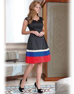 Stripe Hem Dress, £69