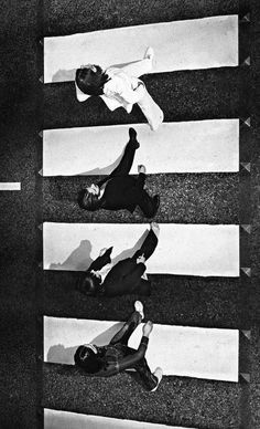 Different perspective on a very famous Album Cover photo. The BEATLES - Abbey Road. #thebeatles #albumcovers http://www.pinterest.com/TheHitman14/musician-pictured-%2B/