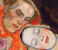 Klimt, Gustav  The Bride, detail