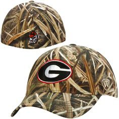 Georgia Bulldogs Top of the World Blades Memory Fit Flex Hat – Camo - $22.39