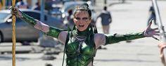 'Power Rangers': Nuevas imágenes del rodaje con Elizabeth Banks como Rita Repulsa - Noticias de cine - SensaCine.com