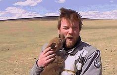 Ewan McGregor and a puppy - Imgur
