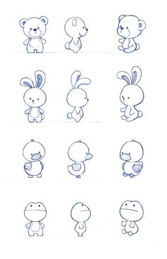 Character design by : simple cartoon drawings, simple animal drawings, simple Doodle Sketch, Doodle Drawings, Easy Drawings, Tier Doodles, Cute Doodles, Cute Doodle Art, Cute Animal Drawings, Kawaii Drawings, Drawing Animals