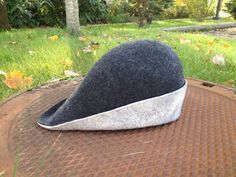 Medieval Felt hat bycocket Robin Hood hat SCA от wanderingsheep
