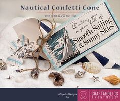 Great nautical or breach party project for Craftaholics Anonymous.