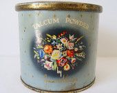 Items similar to Vintage Storage Tin on Etsy Craft Accessories, Vintage Storage, Kitsch, Eye Candy, Planter Pots, Etsy Seller, Tins, Create, Unique Jewelry