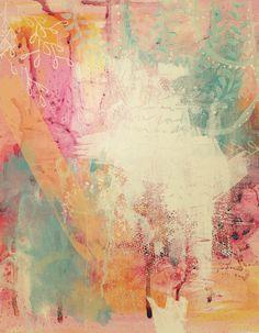 "Saatchi Online Artist: Clair Bremner; Acrylic, 2011, Painting ""Summer Honey"""
