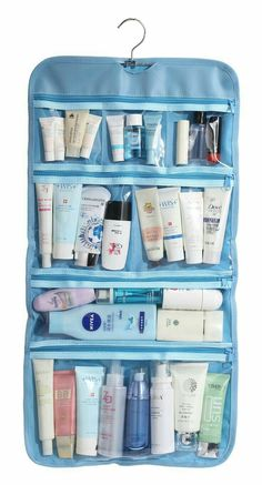 Clothing шитье travel toiletries, toiletry bag e packing tips for trave Travel Kits, Packing Tips For Travel, Travel Essentials, Traveling Tips, Travelling, Mode Bcbg, Travel Toiletries, Travel Toiletry Bag, Large Toiletry Bag