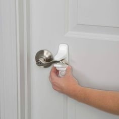 Safety OutSmart Lever Lock With Decoy Button - White : Target Safe Home Security, Black Door Handles, Curious Kids, Home Safety, Kids Safety, Black Doors, Home Repair, Car Repair, Diy Mask
