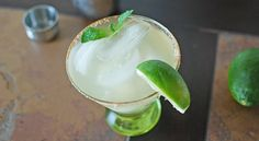 Mint Julep Margarita..Celebrate Cinco and Derby together