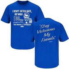 Black T-Shirt Stay Victorious Anti-Canadiens Boston Hockey Fans Sm-5X