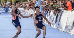 Atleta desiste de buscar vitória e ajuda irmão em fim dramático no triatlo