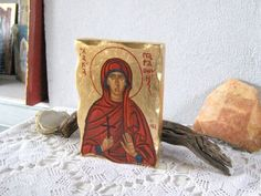 Saint Paraskevi Holy Martyr Paraskeva of Rome by angelicon on Etsy
