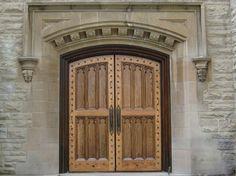 Beautiful Wooden Church Doors