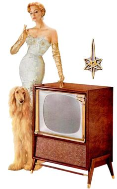 Look at that TV! And the logo is Atom-erific!