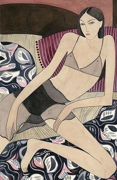Kelly Beeman, New York based artist and fashion illustrator.