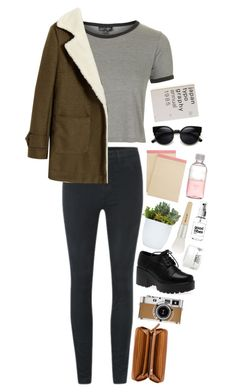 """Dog days are over"" by emma-claire3 ❤ liked on Polyvore featuring Topshop, J Brand, Nine West, Hermès, Aspinal of London, Paul & Joe, Lord & Berry and Kiehl's"