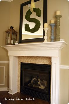 4 Lively Clever Hacks: Living Room Remodel On A Budget Cabinet Colors living room remodel ideas basement stairs.Living Room Remodel Before And After Apartment Therapy livingroom remodel foyers.Living Room Remodel On A Budget Backyard Ideas. Fireplace Redo, Fireplace Remodel, Fireplace Ideas, Tiled Fireplace, Fireplace Makeovers, Fireplace Surrounds, Basement Furniture, Apartment Furniture, Furniture Layout