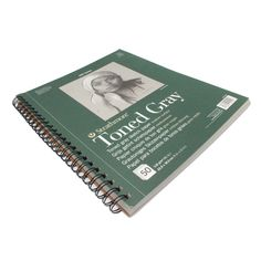 Strathmore 400 series drawing paper pad with grey toned paper ideal for sketching with graphite, charcoal, pastels. high quality ideal for professionals and students, spiral bound artist gray paper Paper Manufacturers, Sketch Paper, Spiral, Gray, Canvas, Sketches, Tela, Grey, Canvases
