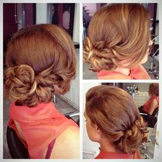 Wedding Bridesmaid Hair - http://hairstyle.girls-s.net/wedding-bridesmaid-hair/