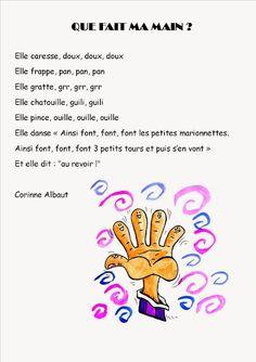 Ma petite maternelle: Comptine #10 Que fait ma main ?