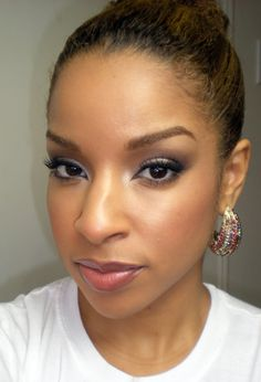 Beauty By Lee: How To: Neutral Day appropriate smoky eye using Drugstore products.