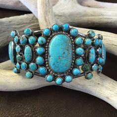 Vintage Ingot Cluster Bracelet