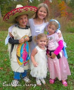 All Saints' Day costume share! Share your photos for a chance to win a free Mass book. Don't miss browsing these adorable costumes!