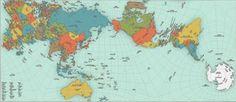 Αυτός είναι ο πιο ακριβής χάρτης του πλανήτη και μάλλον δεν θα σου αρέσει - Viral - NEWS247