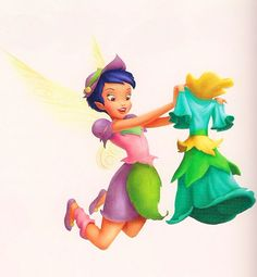 Cinda, Talent: Queen's Assistant (garden fairy? light fairy?)