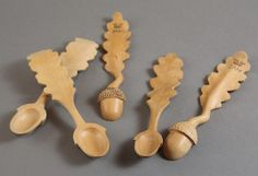 NAIRI SAFARYAN Acorn Spoon Wilde Pear www.woodsymphony.com