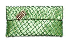 NINA co green clutch bag! Now on sale co e-shop Co E, Green Clutches, Clutch Bag, Bags, Accessories, Shopping, Pouch Bag, Handbags, Clutch Bags