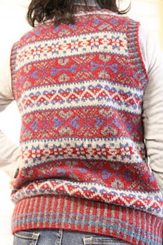 Ravelry: siobhanbermo's Siobhán's Fair Isle Vest | hand knitted ...