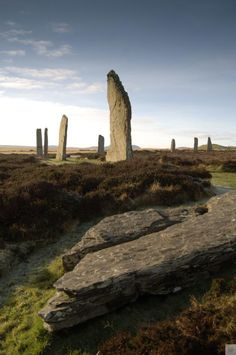 Ring of Brodgar, Orkney.   Visit a UNESCO World Heritage site at this site that dates back to 2500BC. Scotland