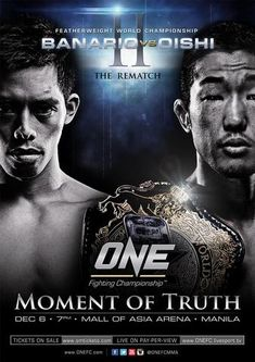 One FC 13 Moment of Truth Ergebnisse - Results