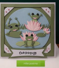 Marianne Design, Frogs, Card Making, Crafting, Summer, Cards, Ideas, Animal Cards, Summer Time