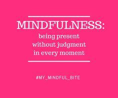 """Le pratiche di presenza mentale rafforzano il collegamento tra corpo, mente e tutto ciò che sta intorno a te. Vivere """"mindful"""" è la chiave per capire la lotta contro il peso e potenziarne il controllo. Quando riesci a rallentare e godere veramente di quello che mangi, impari a coltivare una relazione col cibo salutare e positiva. La presenza mentale rende la vita molto bella e ricca di significato. Leggi i miei consigli """"mindful""""  ---> http://michelacicuttin.com/index.php/consigli/"""