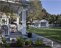 Exterior view as seen from The Hampton Designer Show House. Shared by VT Interiors - Library of Inspirational Images...