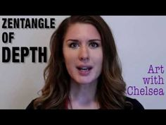 Zentangle of Depth - YouTube