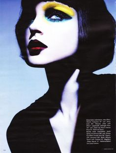 Jessica Stam in Vogue Germany March 2011