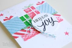 your presents stampin up holiday catalog 2015 bday #luvinstampin