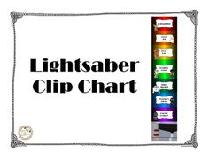 Use this Star Wars clip chart to help manage classroom behavior. It includes…