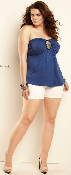 Plus Size shorts from Torrid