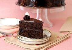 Chocolate cake thats moist and makes for a perfect party cake. Looking for a recipe of chocolate cake for birthday party? Try this easy dark chocolate cake.
