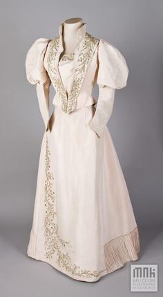 Suknia balowa jedwabna