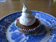 Cupcakes à la compote de pomme et au sirop d'érable